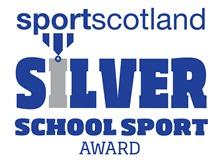 Sportscotland Silver Award Icon