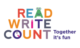 Read, Write, Count Icon